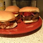 Made more burgers the other night
