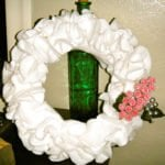DIY Ruffly Wreath