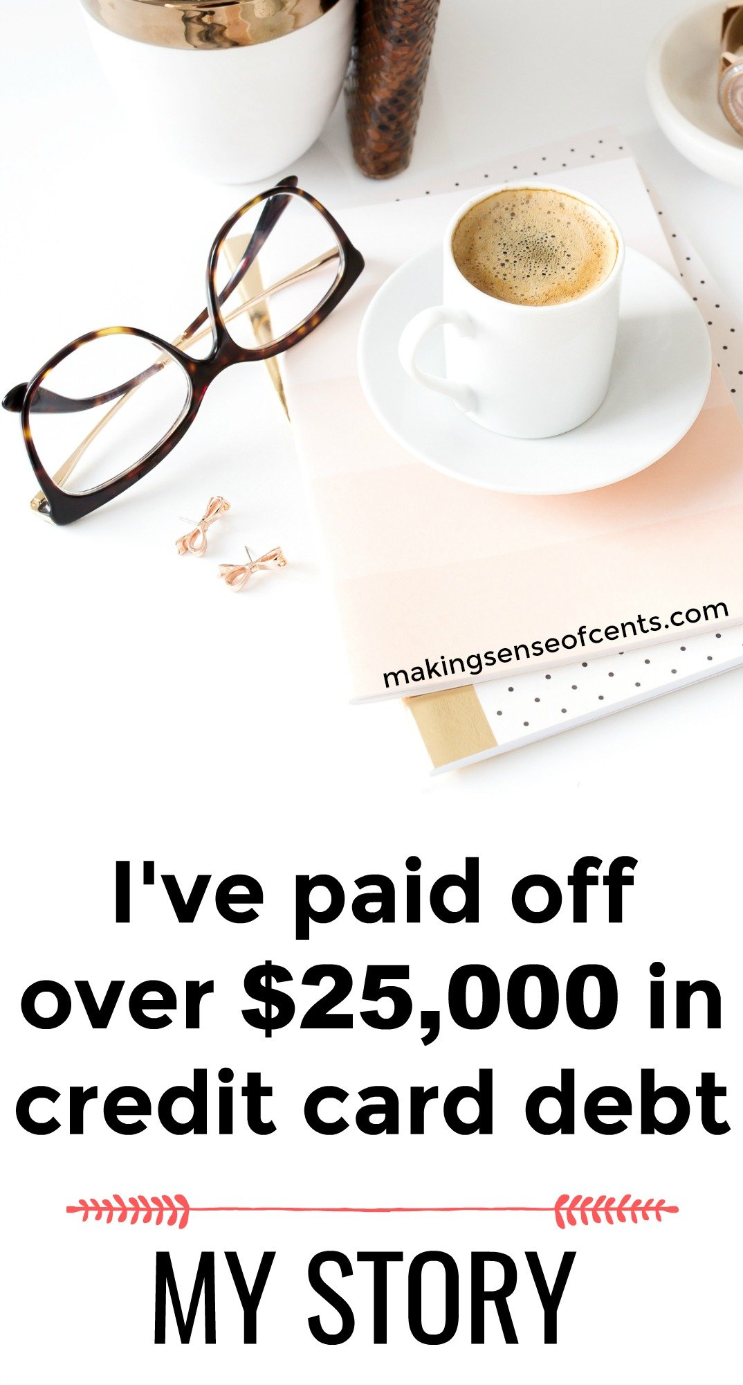 Find out how I've paid off $25,000 in credit card debt.