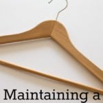 Maintaining a Minimalist Wardrobe