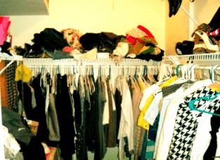 Michelle's non-minimalist closet... :)