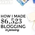 $6,523 in January Extra Income and GOALS