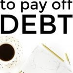 Budgeting to Pay off Debt
