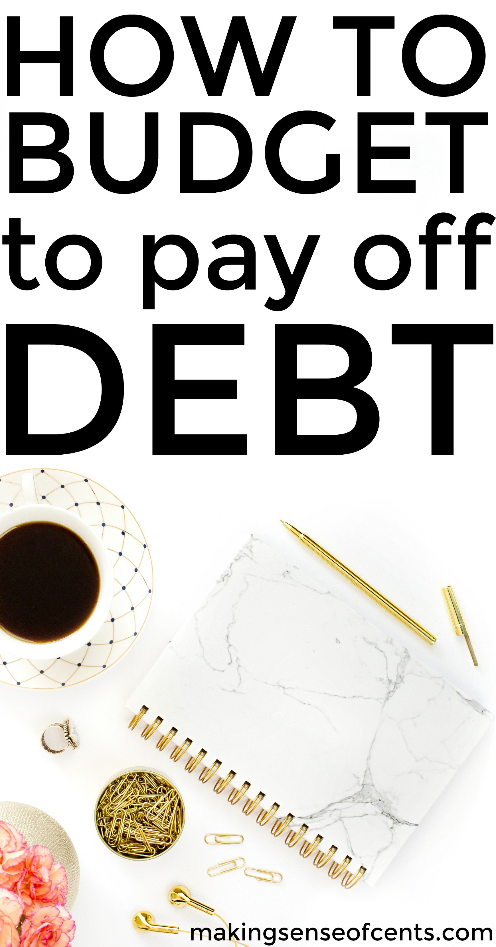 Find out how to budget to pay off debt in real time. This is a helpful list!