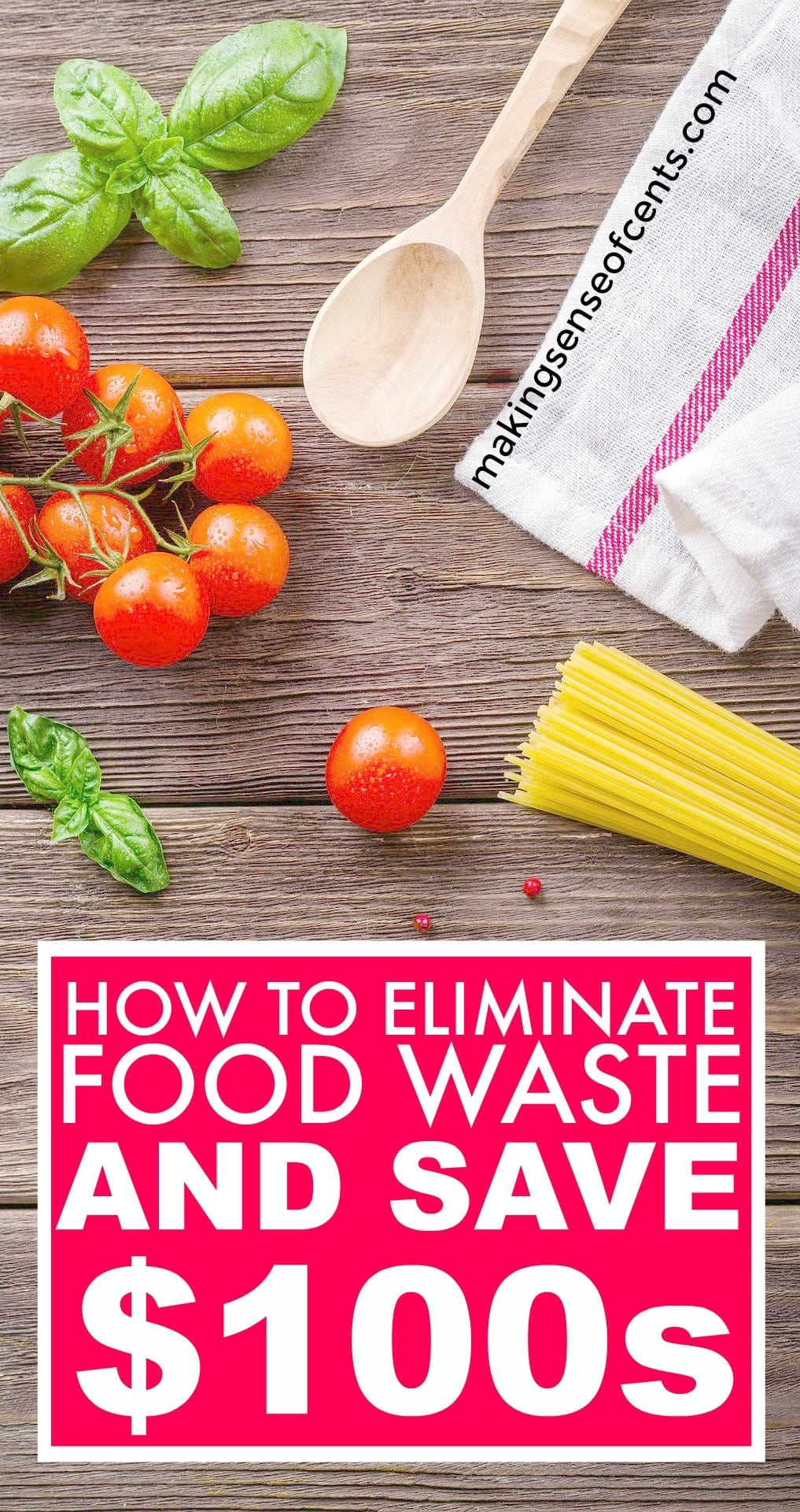 Find out how to eliminate foodwaste and save hundreds. This is a great list!