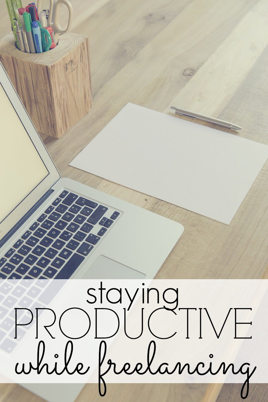 Staying Productive While Freelancing