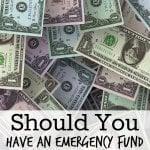 Emergency Fund or Pay off Debt?
