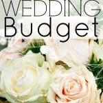 How to Set a Wedding Budget – Part 1