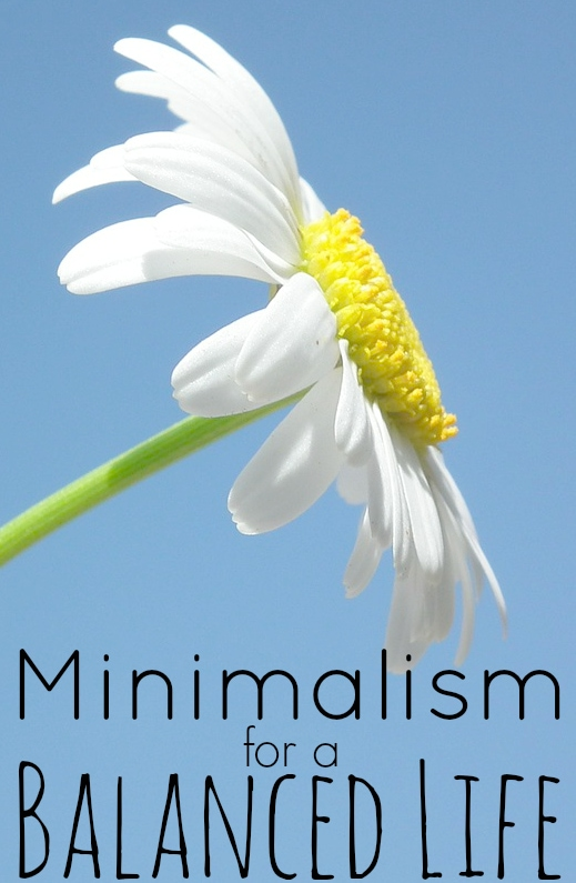 Minimalism for a balanced life making sense of cents for Living life as a minimalist