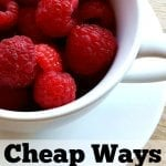 Cheap Ways to Stay Healthy