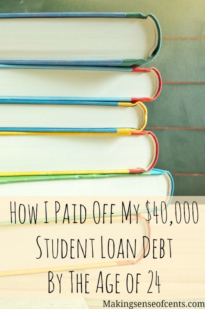 How to Pay Off Student Loans Fast - Making Sense Of Cents