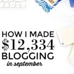 $12,334 in September Side Income – Time for Self-Employment