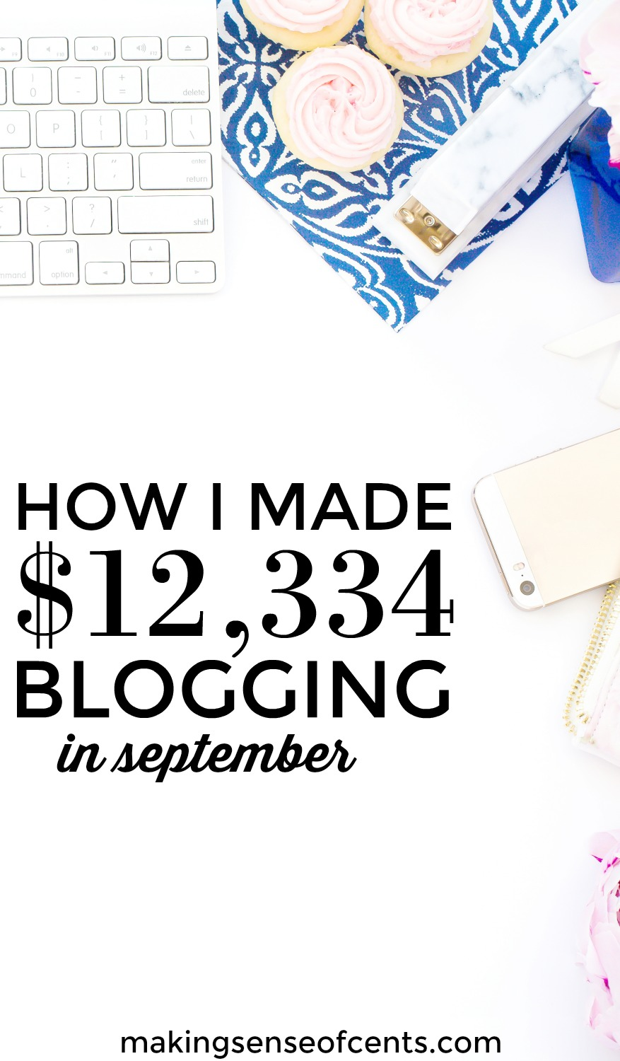 Find out how I earned $12.334 from blogging income.