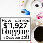 $11,927 in October Business Income – I Finally Left My Job