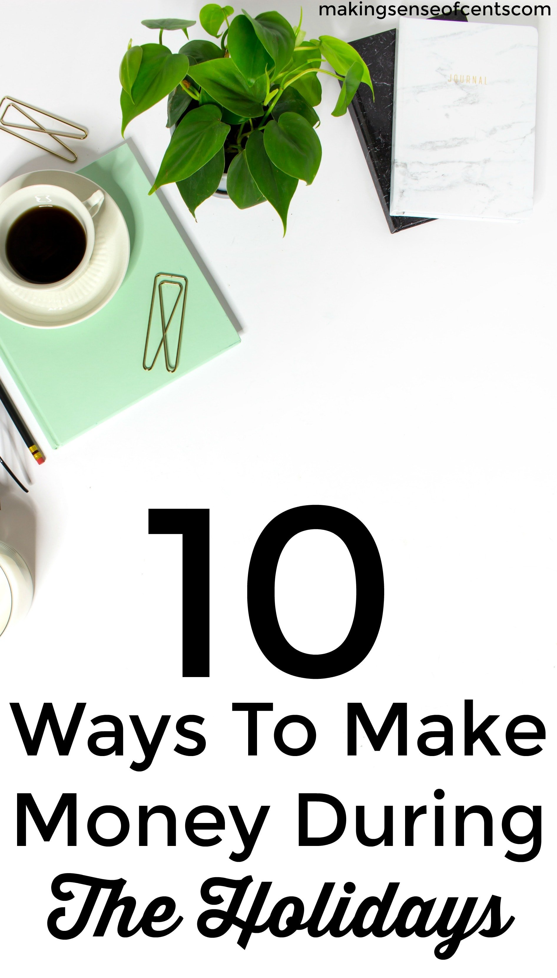 Check out this list of 10 ways to mamke mone during the holidays. This is a great list!