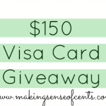 Chippmunk and $150 Visa Giveaway