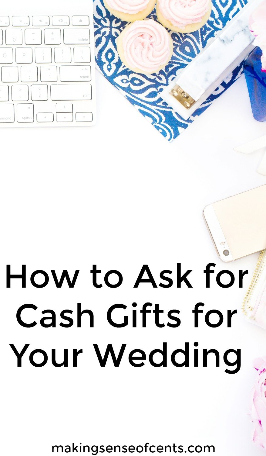 Find out how to ask for cash gifts for your wedding. This is a helpful article!