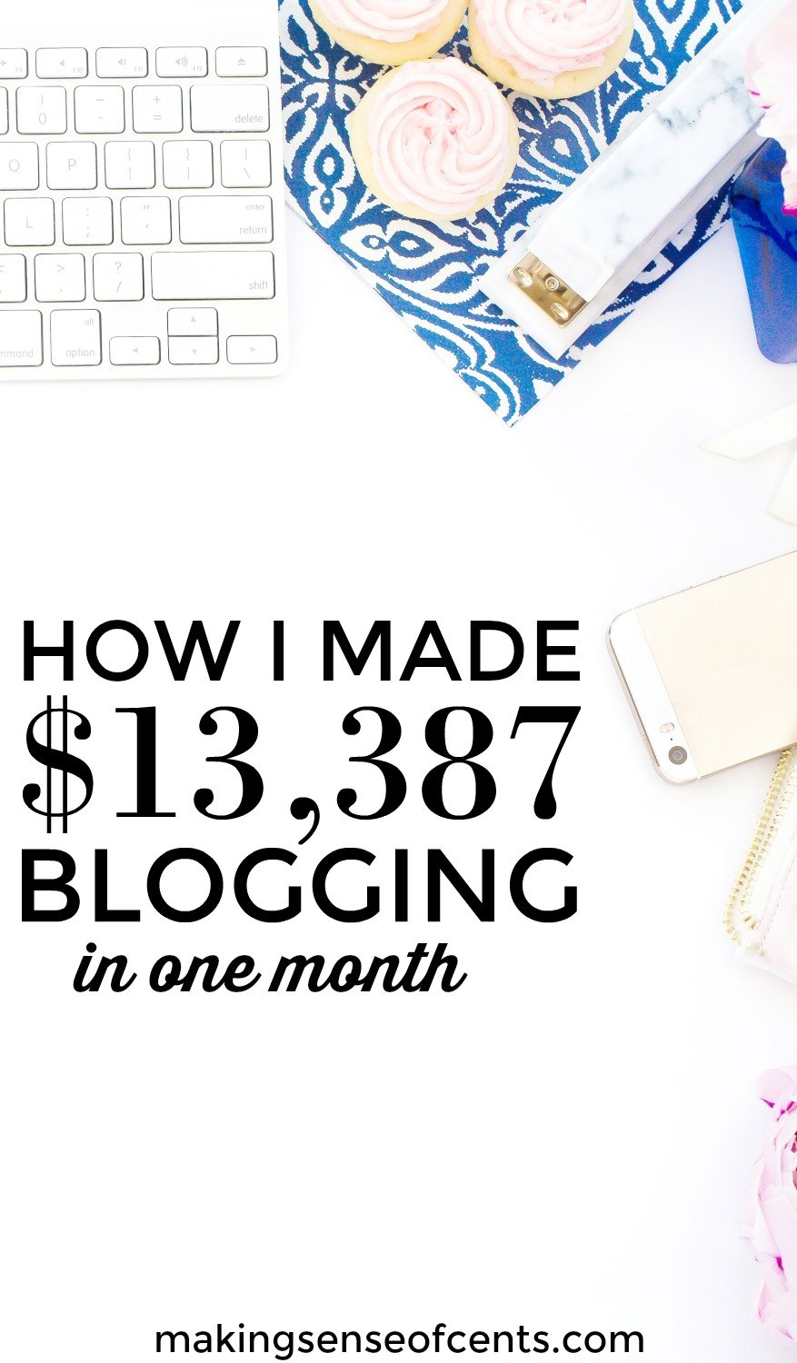Find out how I made $13,387 in blogging income. This is a great list!