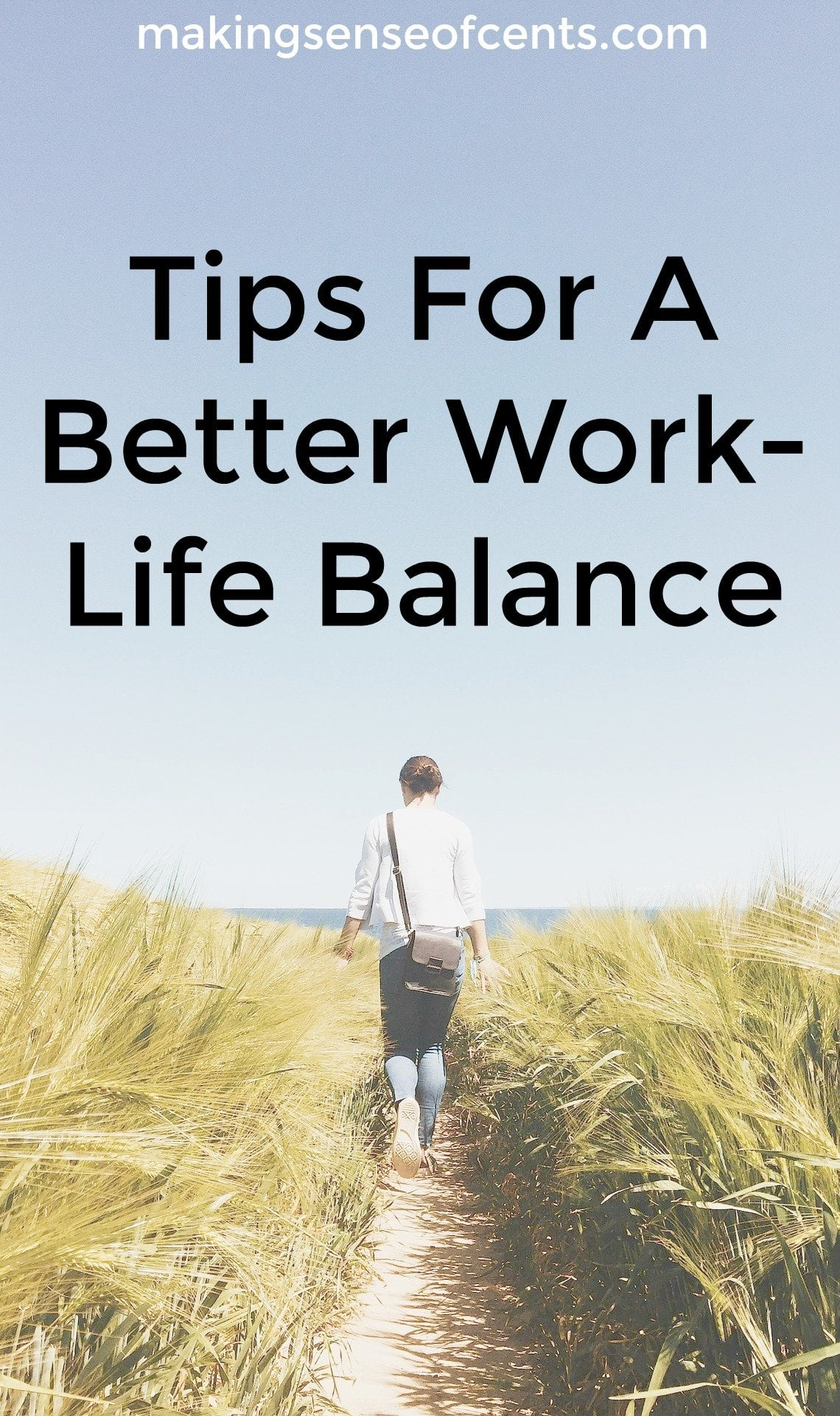 Check out these tips for better work-life balance. This is a great list!