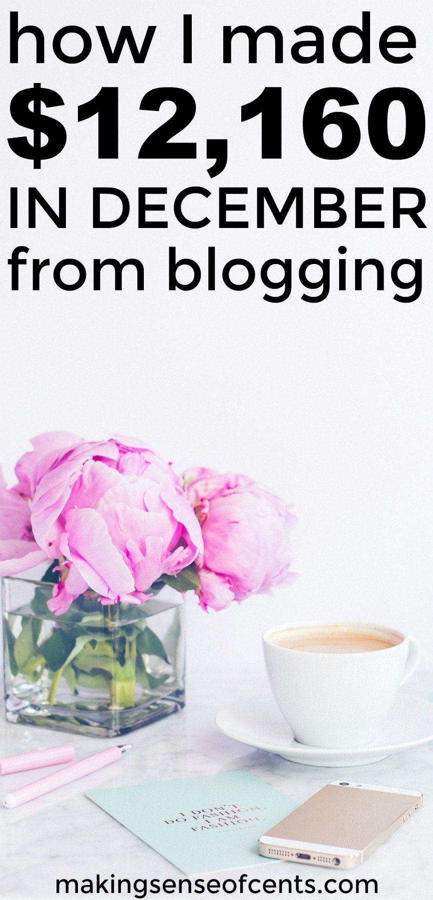 Find out how I made $12,160 in December from blogging and working from home.