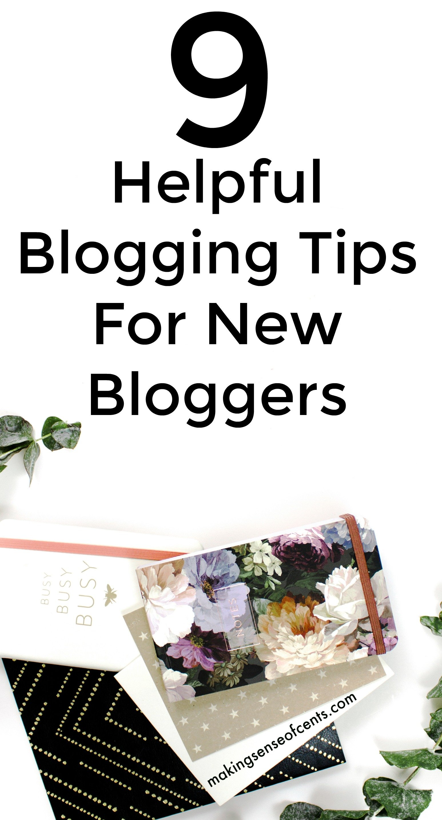 Check out these 9 helpful blogging tips for new bloggers. This is a great list!