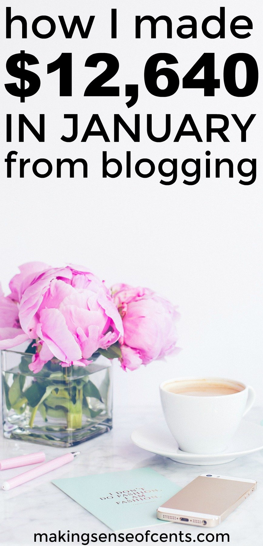 Find out how I made $12,640 in January from blogging.