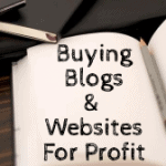 Buying Blogs and Websites For Profit Part 1