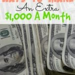 Ways To Make An Extra $1,000 A Month