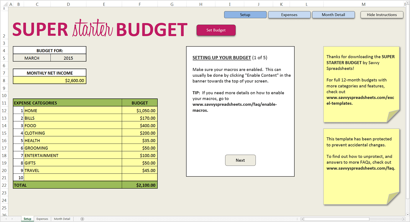 How Do You Budget? Interview with Janet at Savvy Spreadsheets
