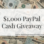 Three Year Blogiversary and $1,000 Cash Giveaway