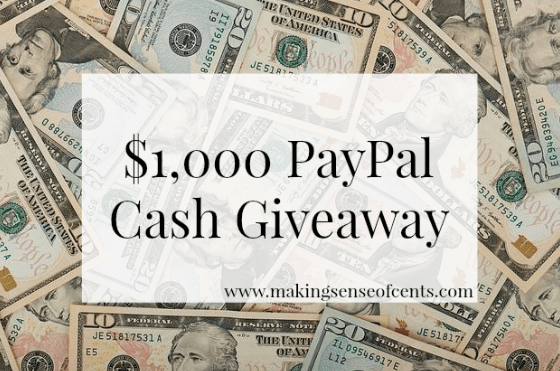 Three Year Blogiversary and $1,000 Giveaway