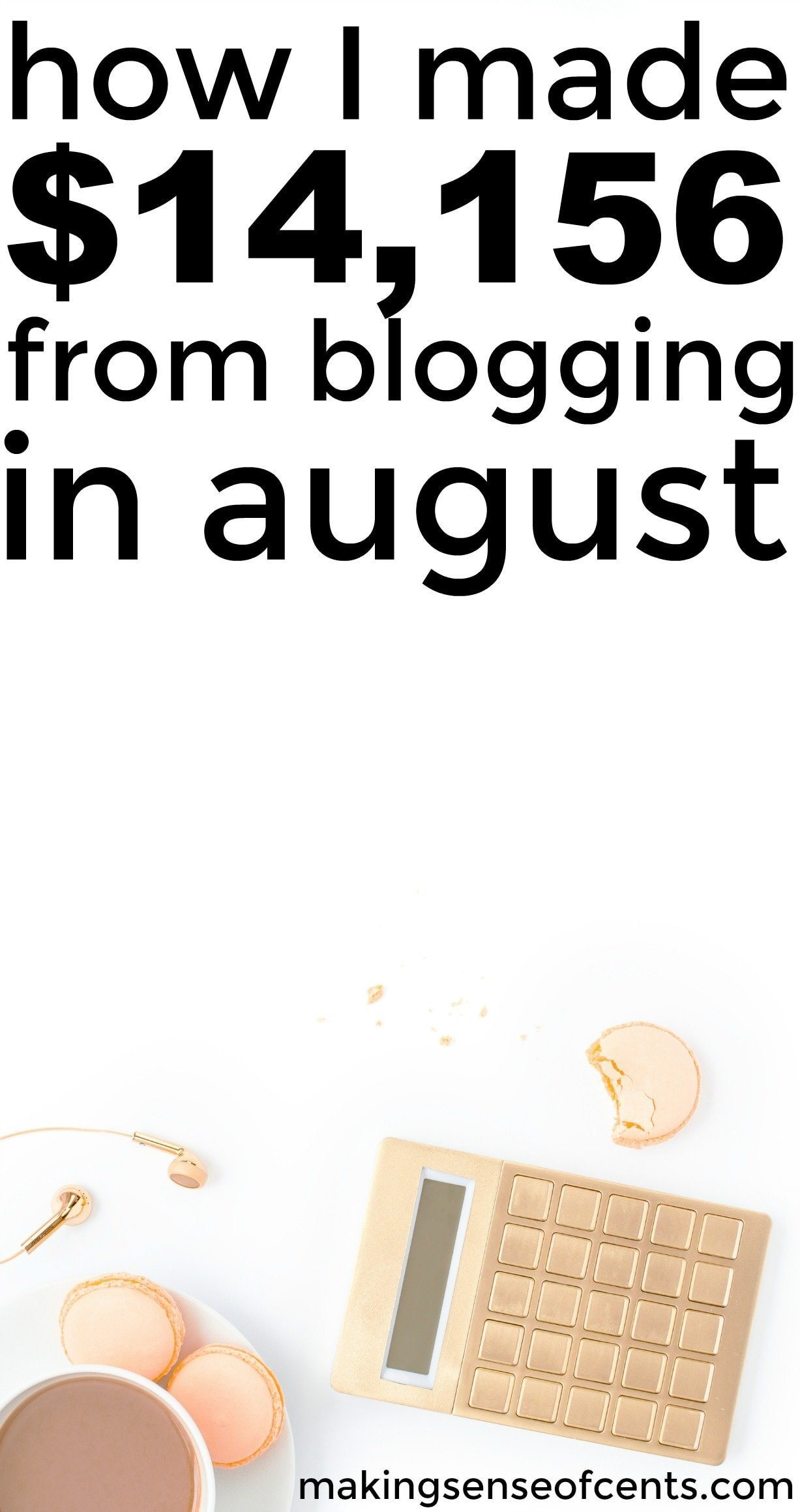 Find out how I made $14,156 in August from blogging. This is a great list!