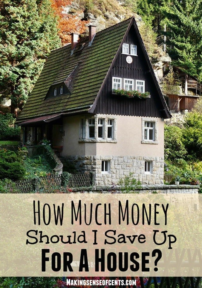 How much money should i save up for a house making for Save money building a house