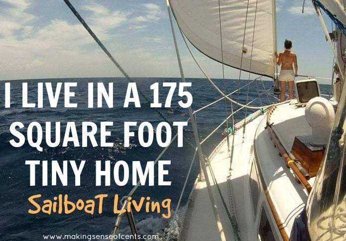 I Live in a 175 Square Foot Tiny Home - Sailboat Living Picture