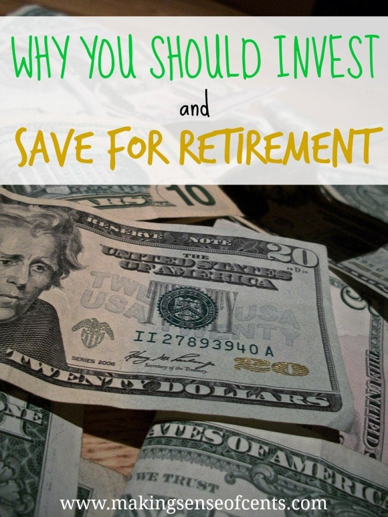 Why You Should Invest and Save For Retirement Plus a Personal Finance Confession Fail