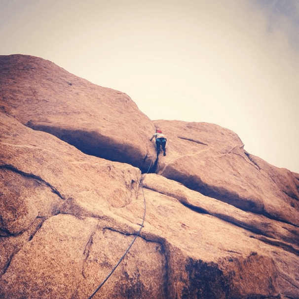 My First Outdoor Rock Climbing Experience With Cliffhanger Guides at Joshua Tree National Park 4