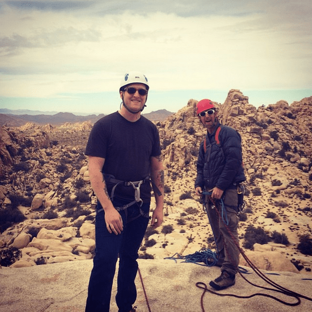 My First Outdoor Rock Climbing Experience With Cliffhanger Guides at Joshua Tree National Park 7
