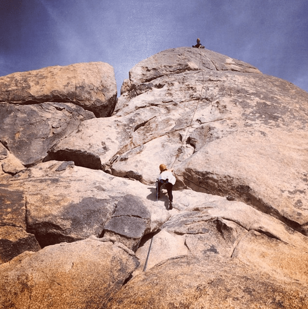 My First Outdoor Rock Climbing Experience With Cliffhanger Guides at Joshua Tree National Park