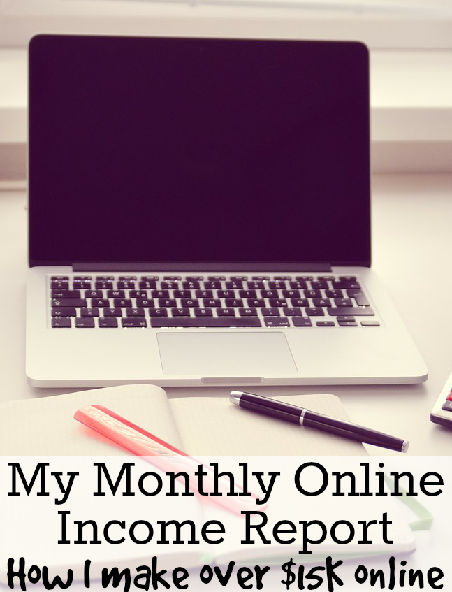 November Income – My Monthly Online Income Report - making money online picture