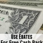 Use Ebates For Free Cash Back and Get A FREE $10 Cash Back