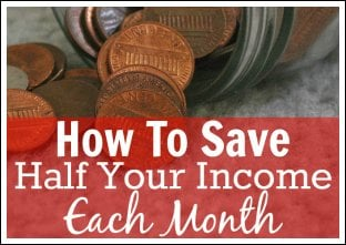 How To Save 50% Or More Of Your Income Picture
