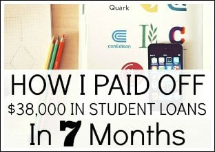 My Student Loans Are Gone - How I Paid Off $38,000 In Student Loans
