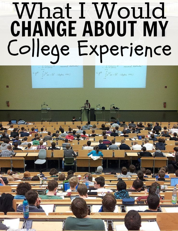 What I Would Change About My College Experience Classroom Picture