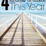 4 Life and Financial Hurdles To Tackle This Year