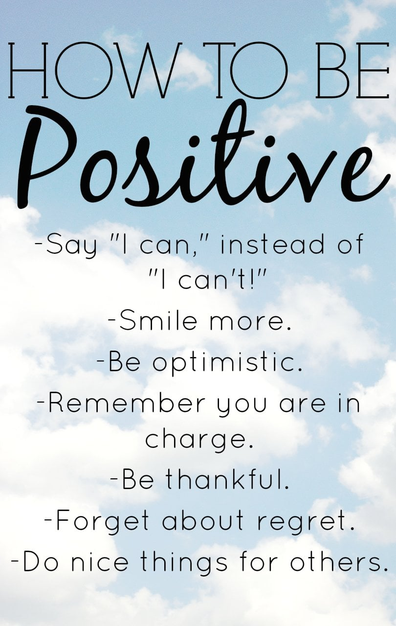How To Be Positive With 8 Positive Thinking Exercises