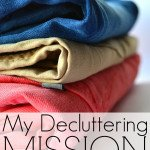My Decluttering Mission – I'm a Closet Slob