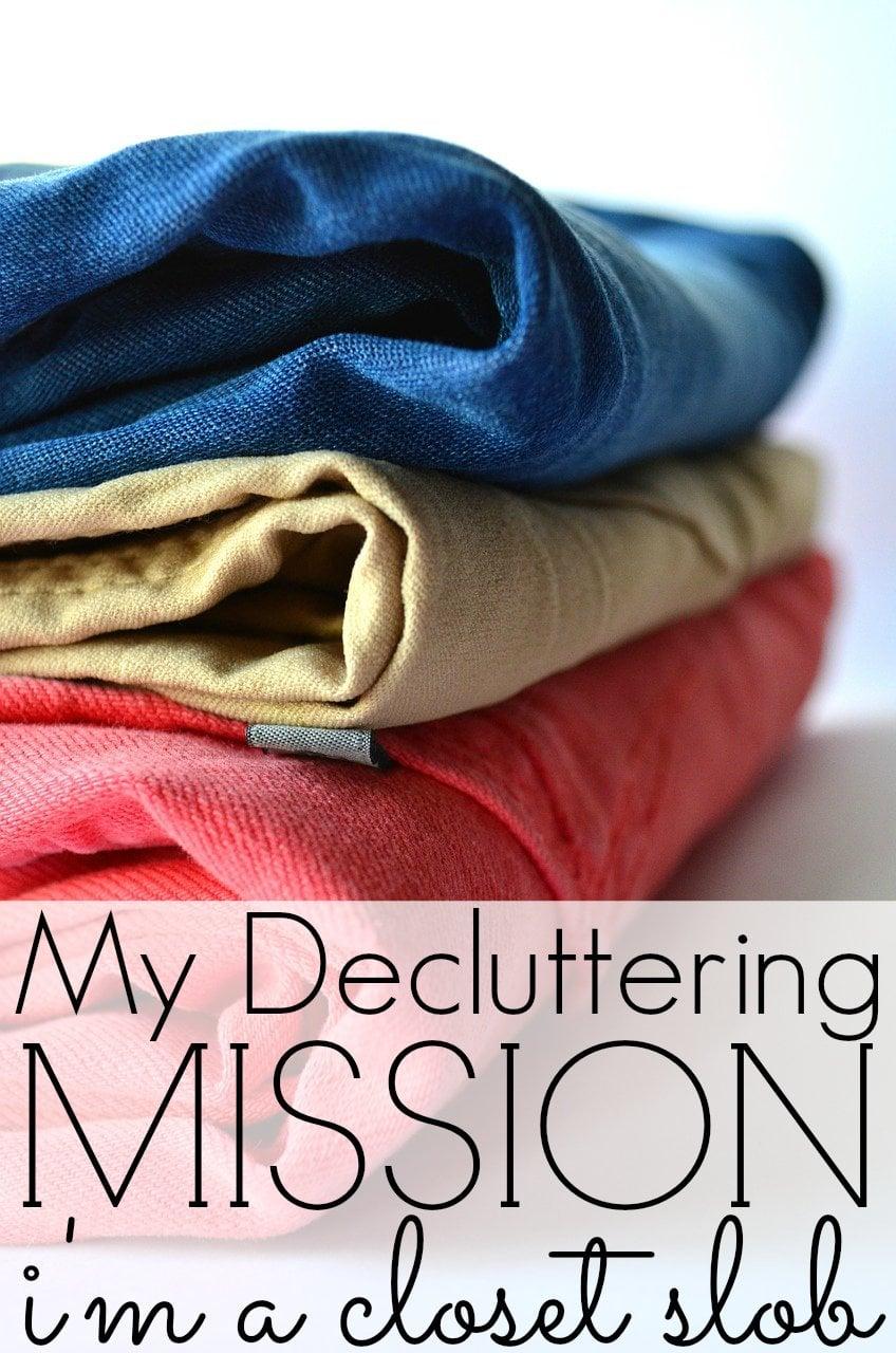 How To Declutter Your Closet - My Decluttering Tips