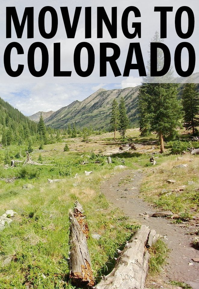 Moving To Colorado