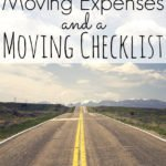 Our Moving Expenses And Moving Checklist – Colorado Move Update