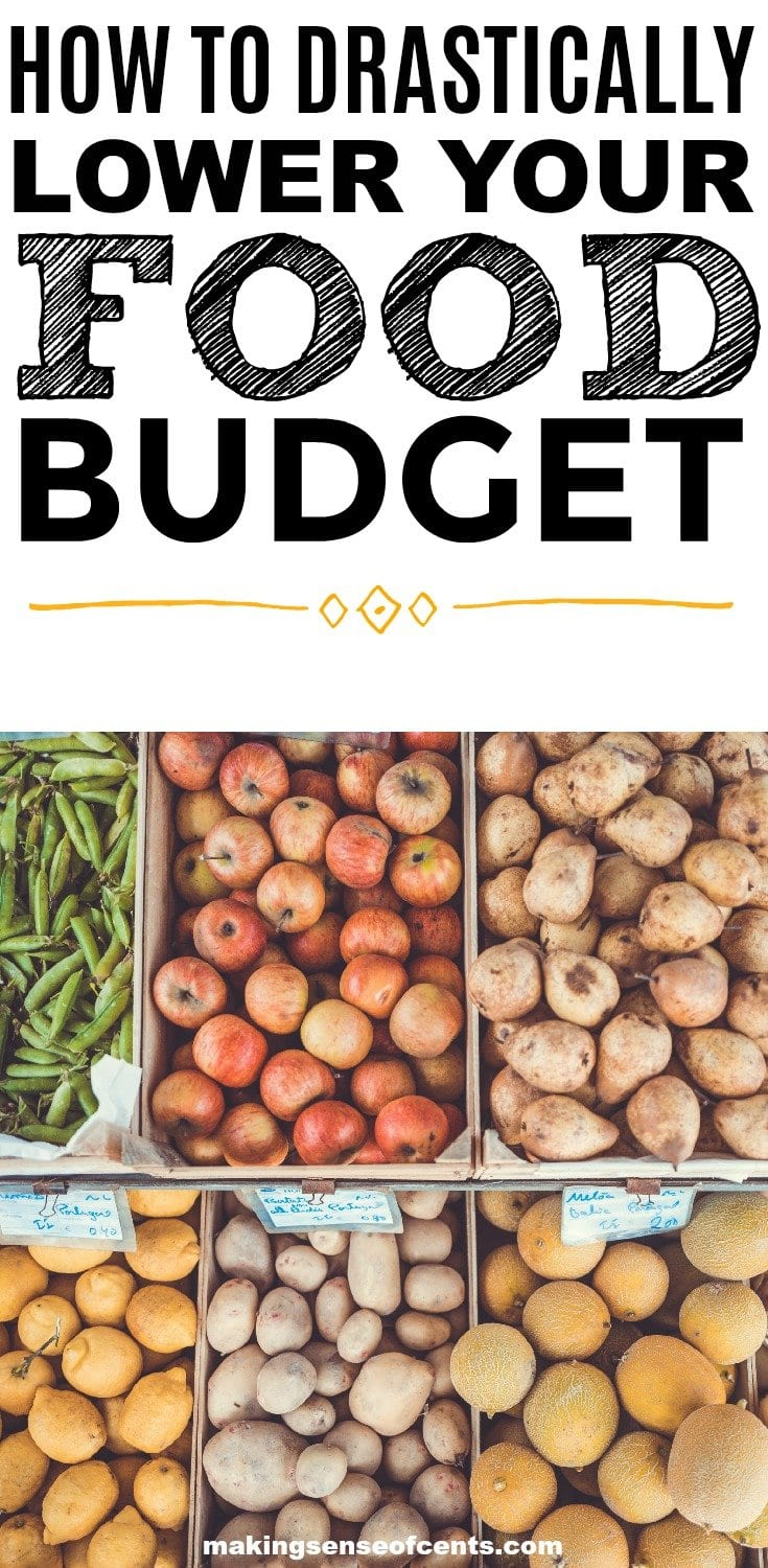 Find out how to drastically lower your food budget. This is a great list!